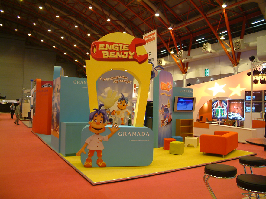 Exhibition Stand With Tv : Exhibition display stand design in cambridge uk